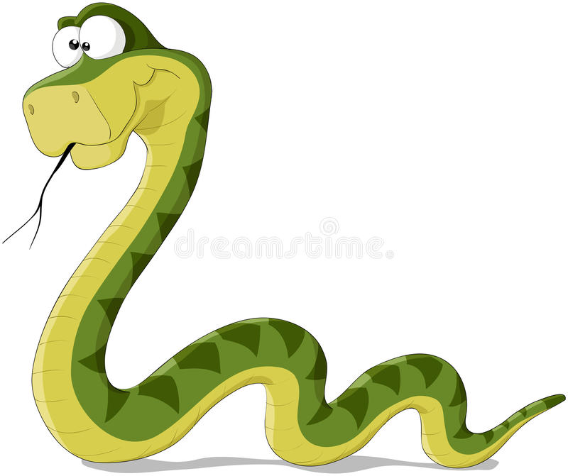 Serpente illustrazione vettoriale