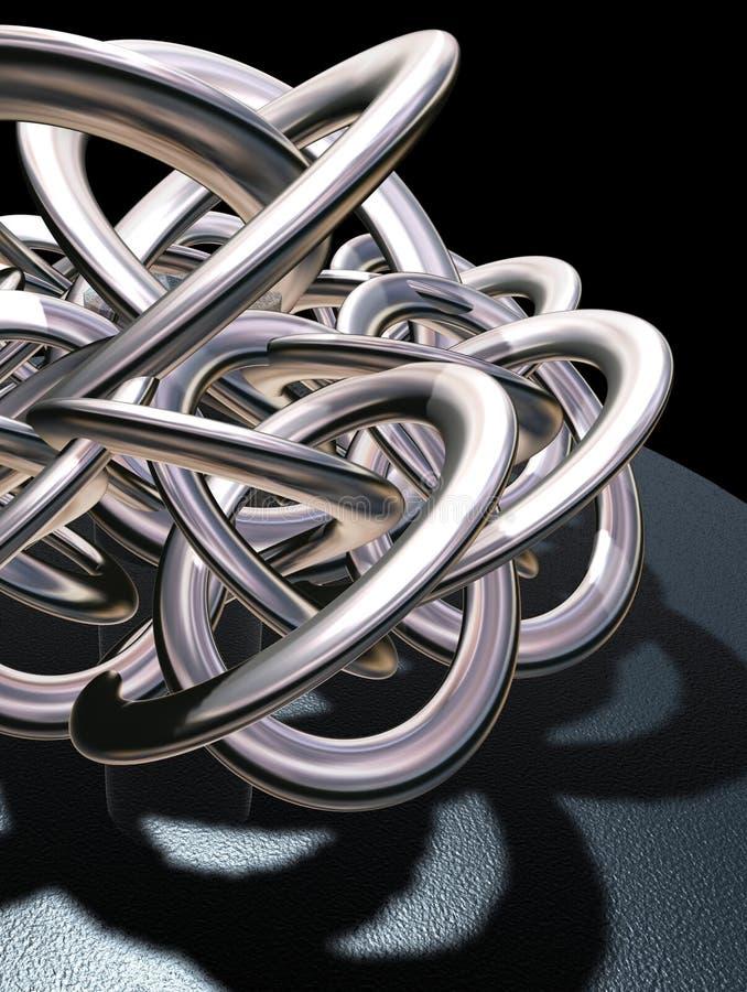 Serpente 2 di fantasia illustrazione di stock