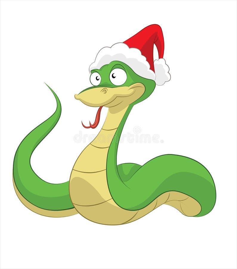 Serpente nova feliz ilustração royalty free