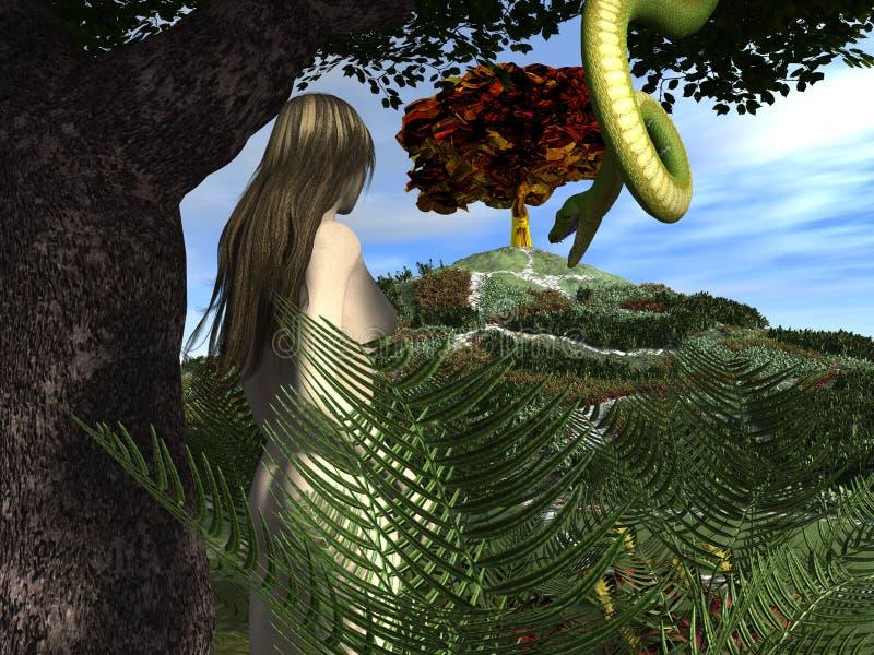Resultado de imagem para a serpente no jardim do éden