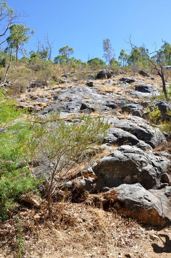 Serpentine Falls Granite Face photo stock