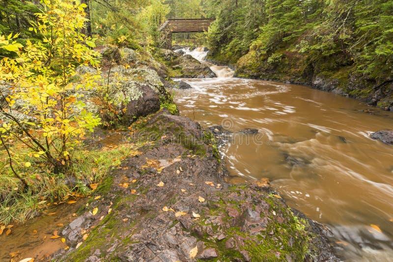 Serpiente Pit Falls de Amnicon foto de archivo libre de regalías