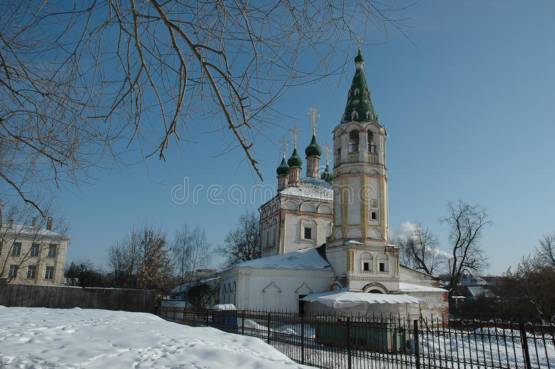 Serpuchov. Rusland royalty-vrije stock afbeelding