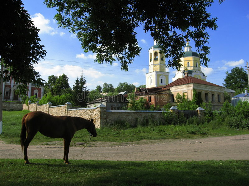 Serpuhov, Rússia imagens de stock royalty free