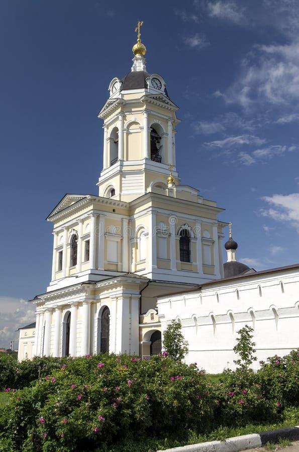 Serpukhov Vysotsky monastery. stock photos