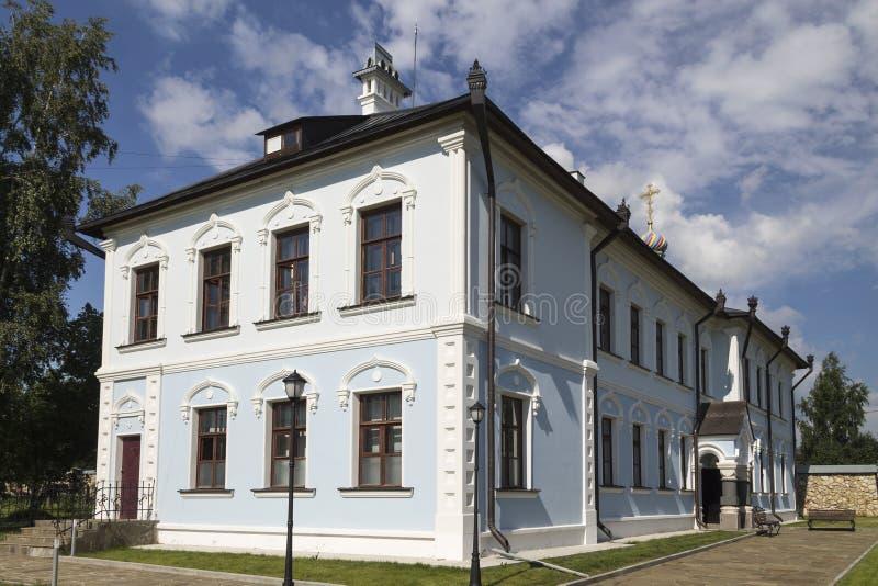 Serpukhov Vysotsky monastery. stock photo
