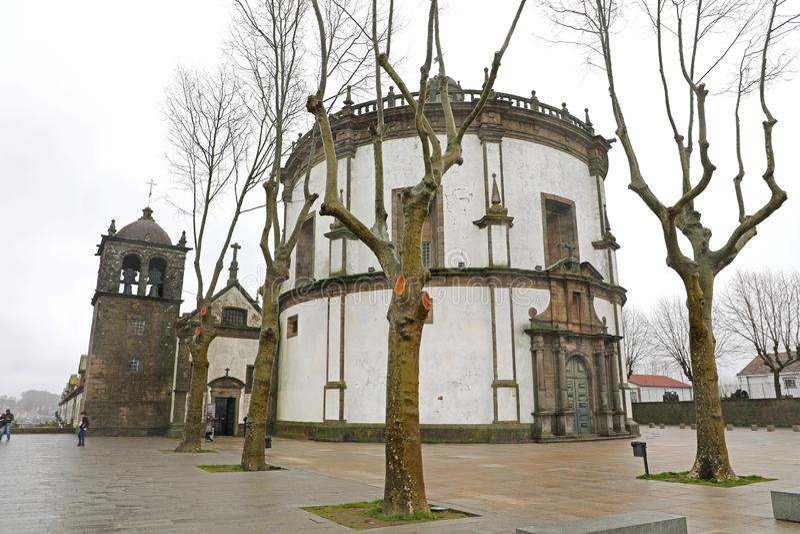 Serra做毛发的修道院,加亚新城,波尔图,葡萄牙 库存图片