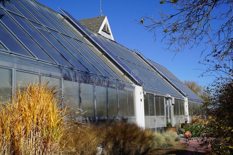 Serra, Cheyenne Botanic Garden fotografie stock