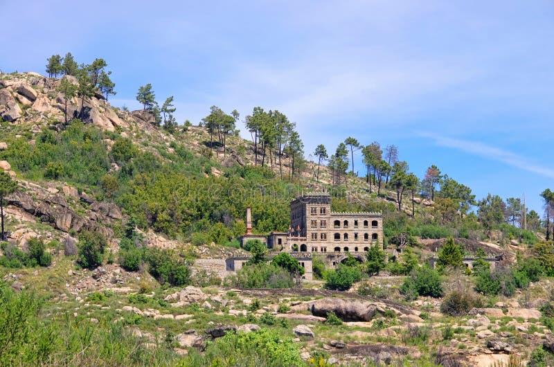 Serra da Estrela别墅 免版税库存图片