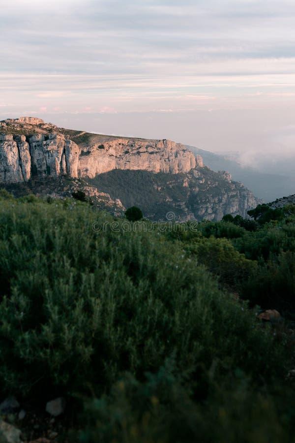 Serra de Llaberia fotografía de archivo