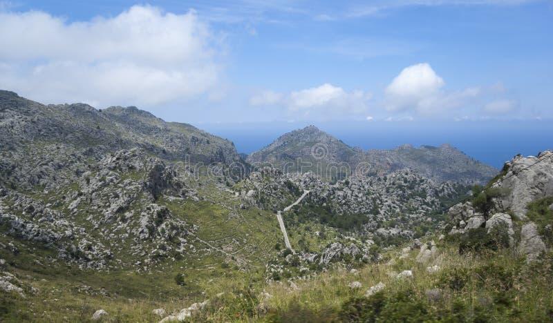 Serra de Tramuntana royaltyfri fotografi