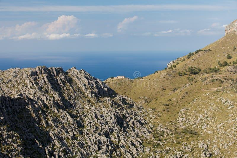 Serra de Tramuntana 免版税库存图片