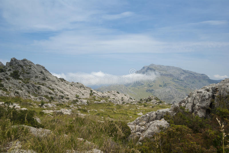 Download Serra de Tramuntana stock image. Image of cloud, sierra - 33695311