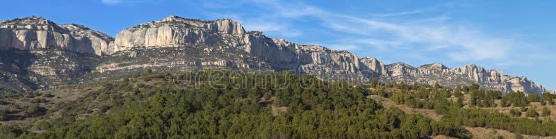 Serra del Montsant royaltyfri fotografi