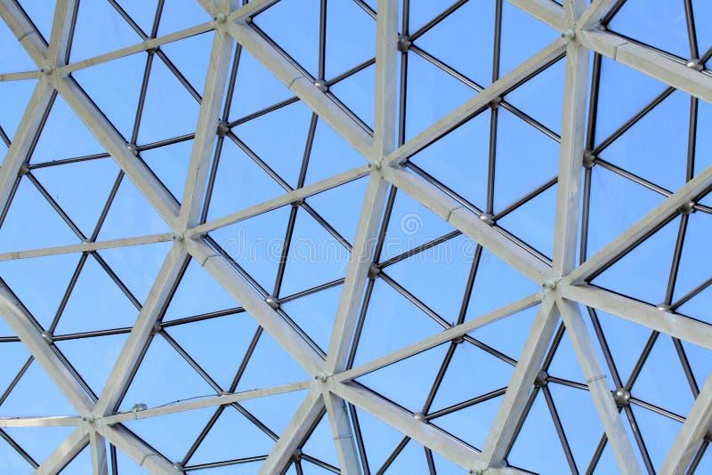 Serra di vetro della cupola fotografia stock libera da diritti