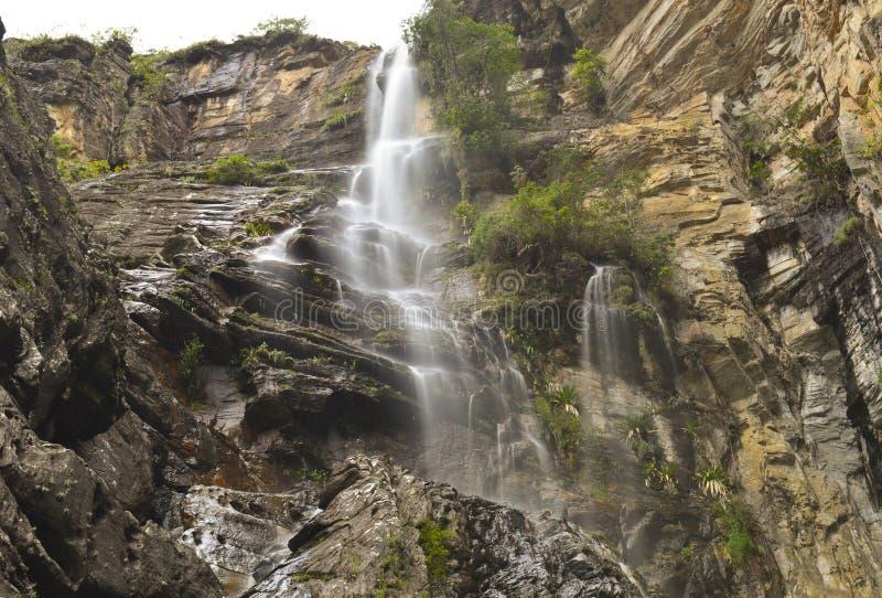 Serra faz o parque nacional de Cipo imagem de stock