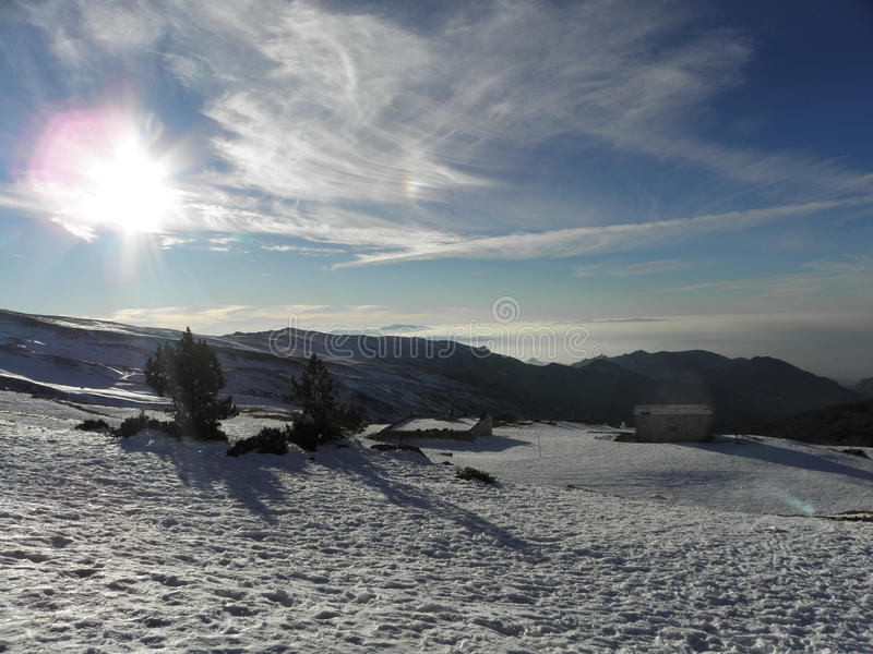 Serra Nevada imagens de stock