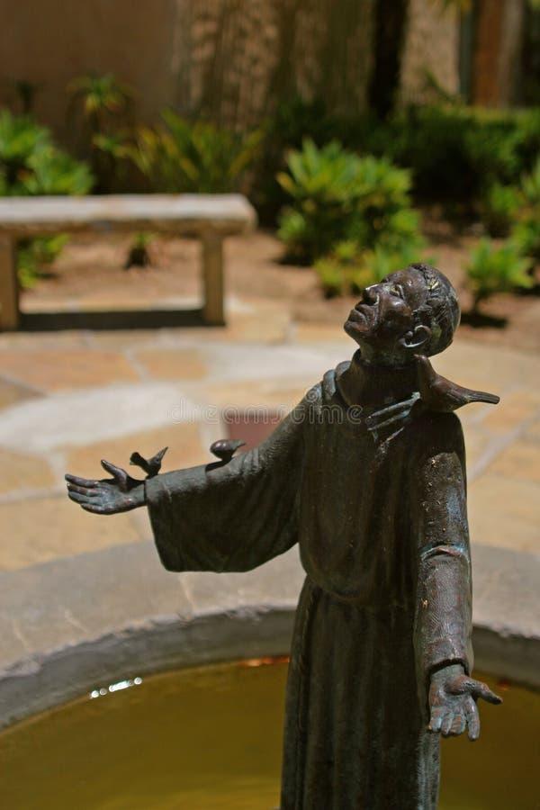 serra posąg ojca. zdjęcia stock