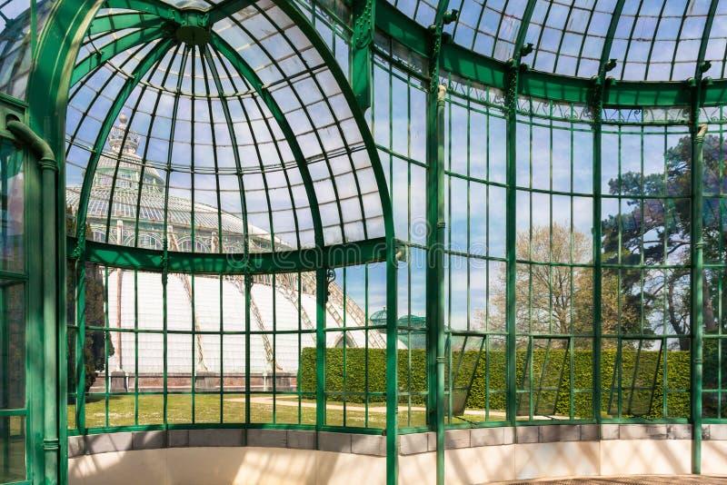 Serra reale di Laeken fotografia stock