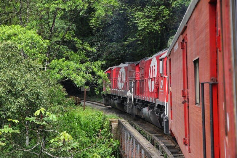 Serra Verde-trein stock foto