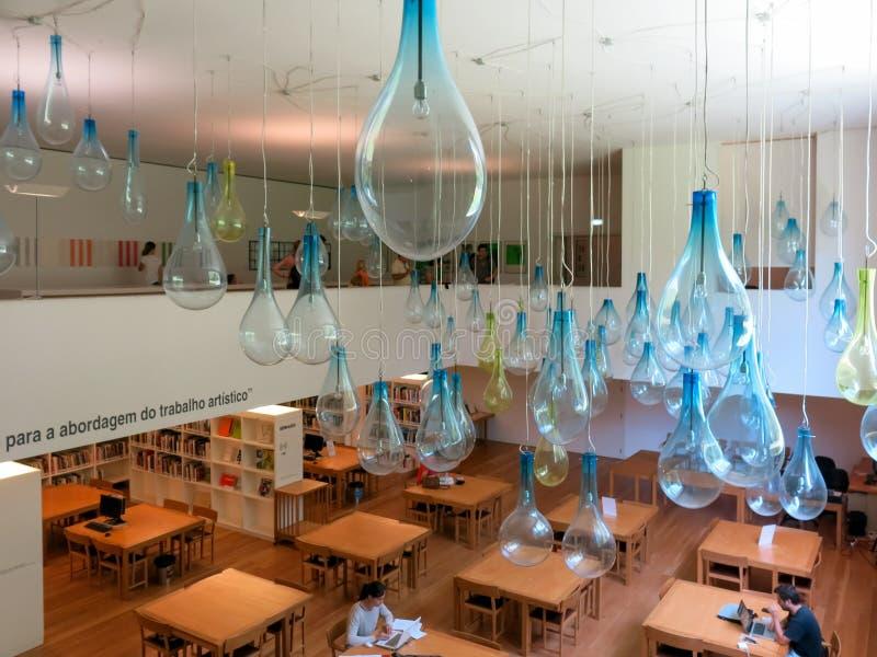 Serralves当代艺术博物馆在波尔图 免版税库存照片