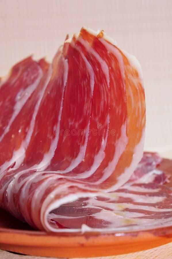 Download Serrano ham tapas stock photo. Image of iberico, delicious - 25982618