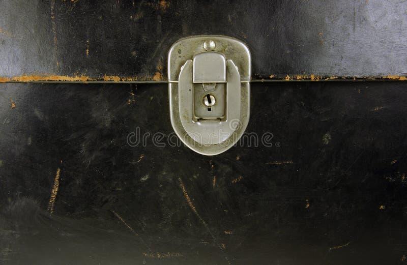 Download Serratura fotografia stock. Immagine di cuoio, nero, struttura - 7302488