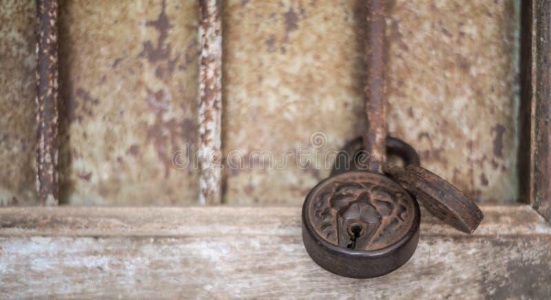 Serratura antica fotografia stock