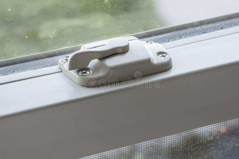 Serratura di finestra fotografia stock