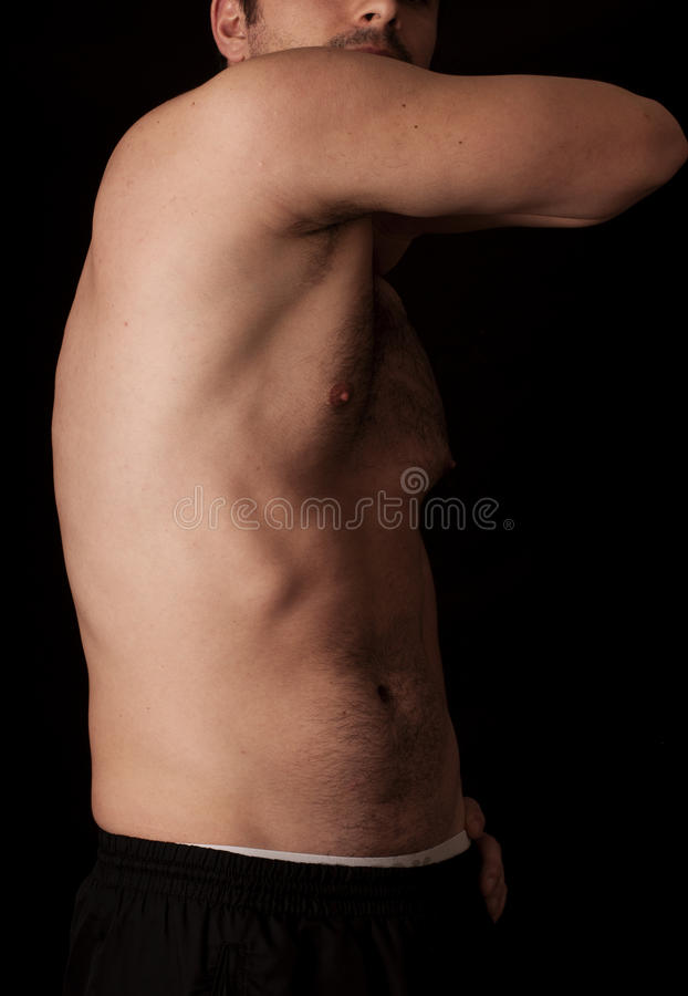 Serratus anterior stock images