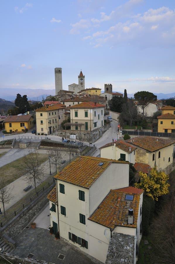 serravalle wioska obrazy royalty free