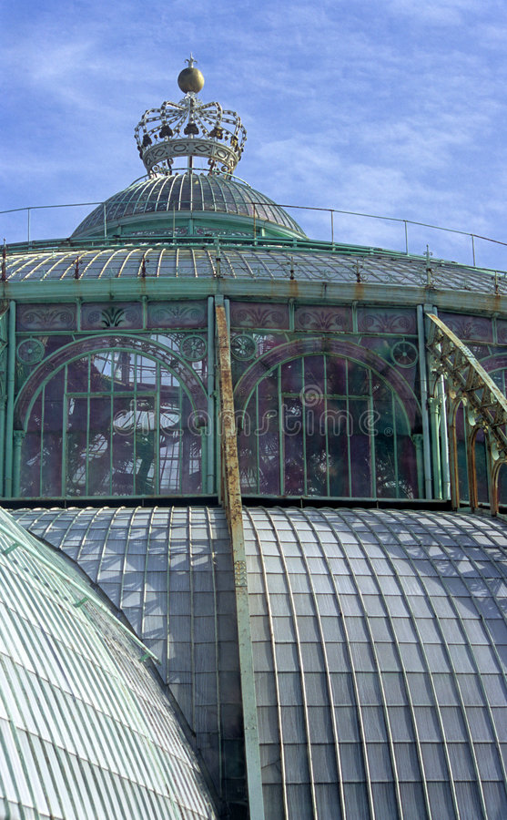 Serre chaude royale Laeken photos stock