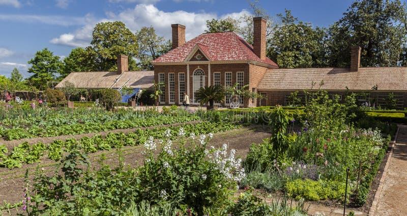 Serre chaude Washington de Mount Vernon photos libres de droits