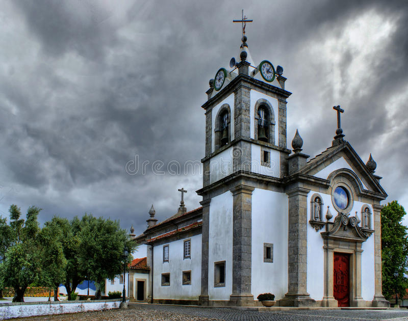 Download Serreleis Church In Viana Do Castelo Stock Photo - Image: 66709332