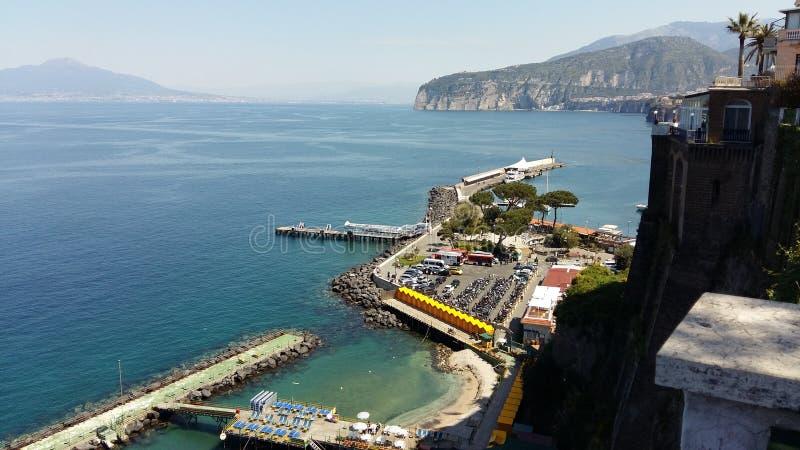 Serrento Ιταλία στοκ φωτογραφίες με δικαίωμα ελεύθερης χρήσης