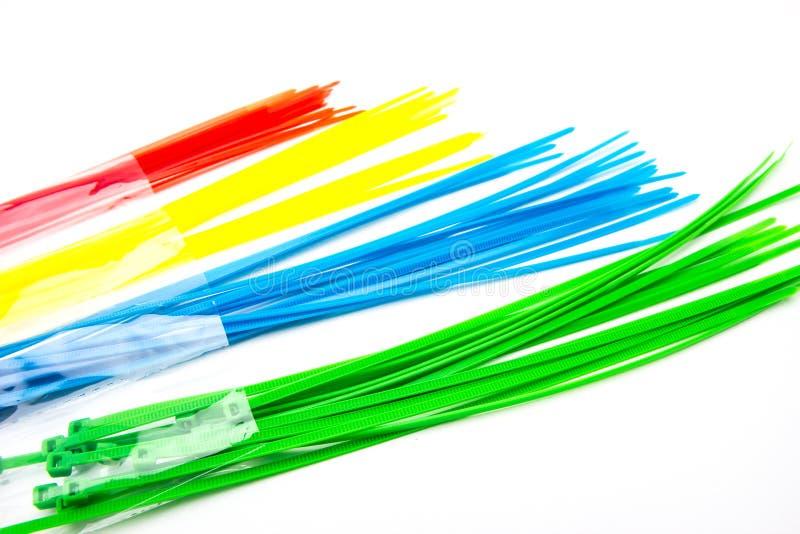 Serres-câble en nylon photos stock