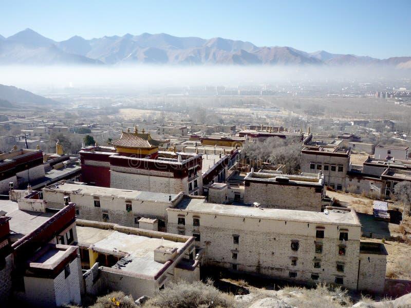 Serum-Kloster - Lhasa, Tibet, China stockfoto