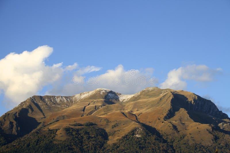 Serva-mounain in Belluno lizenzfreie stockbilder