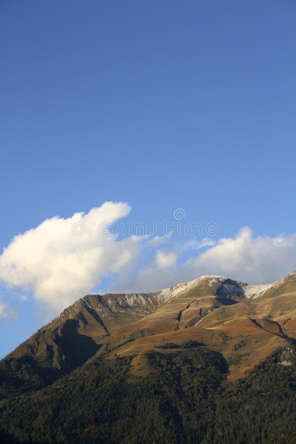 Serva mounain w Belluno fotografia royalty free