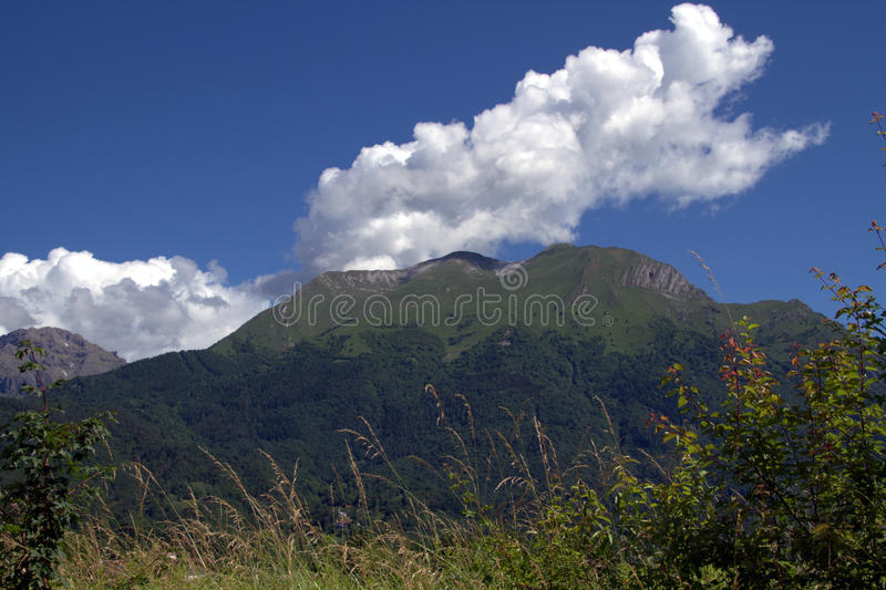 Download Serva mountain stock image. Image of parco, clouds, belluno - 25434041