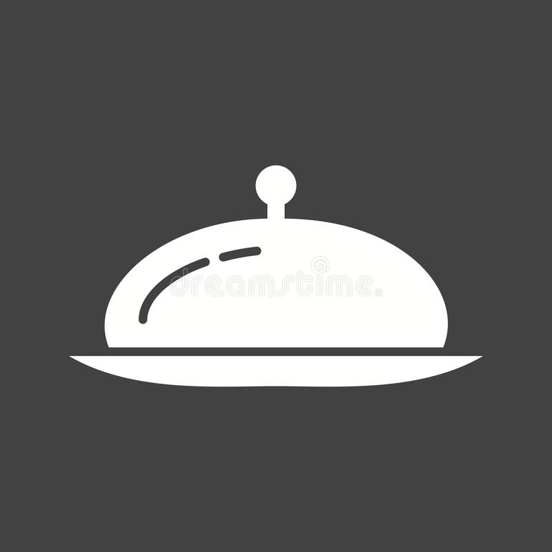 Serve Dinner royalty free illustration