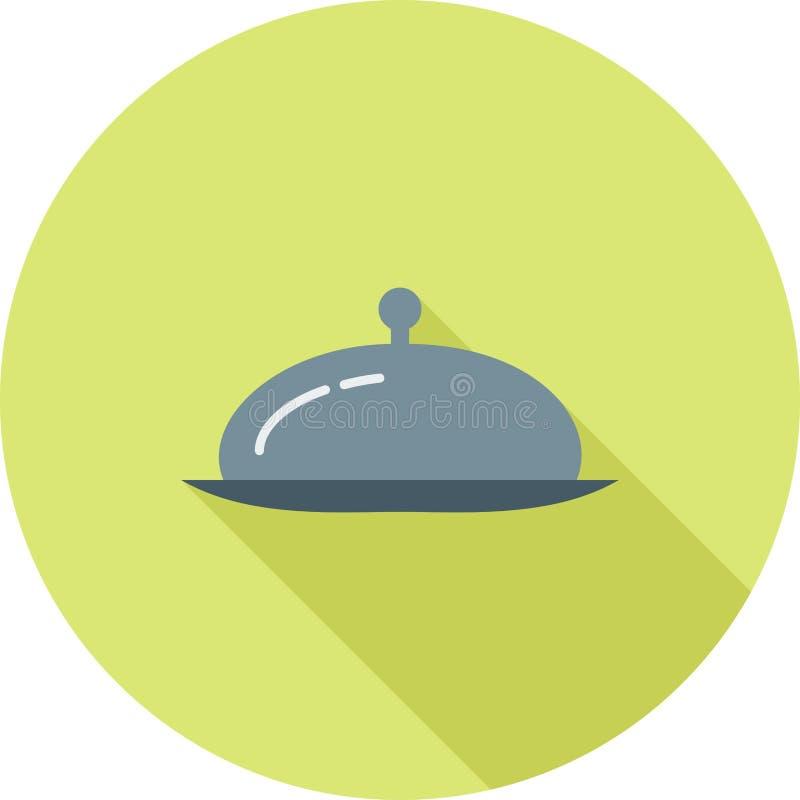 Serve Dinner stock illustration