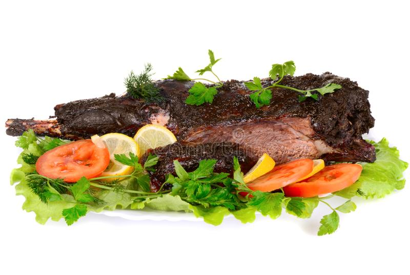 Download Served roast meat stock image. Image of served, mutton - 8111339