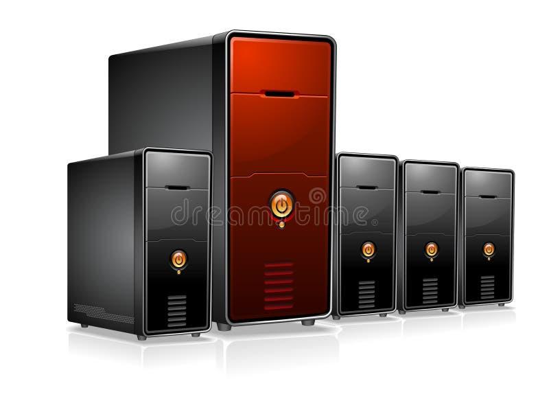 Server ilustração stock