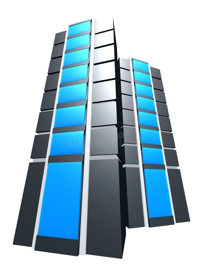 Download Server illustrazione di stock. Immagine di laptop, internet - 350514