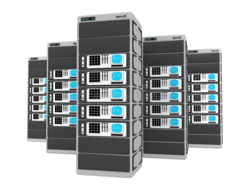 server 3d illustrazione di stock