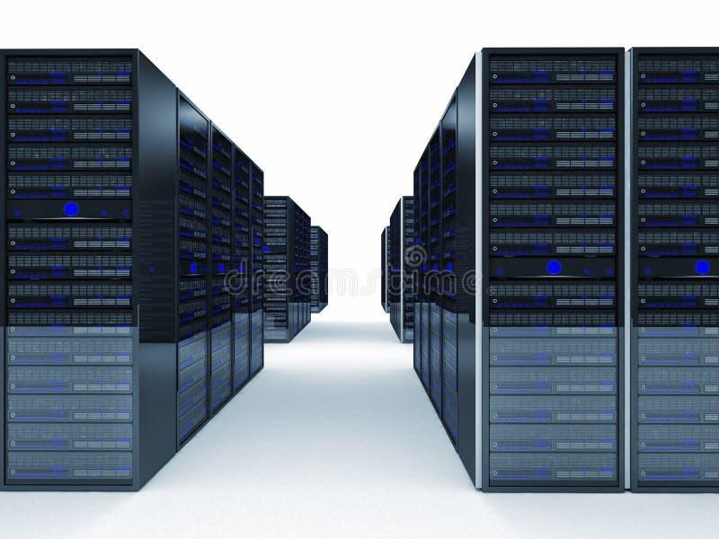 Server 3d lizenzfreie abbildung