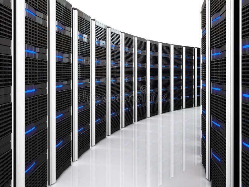 Server 3d Background Stock Images