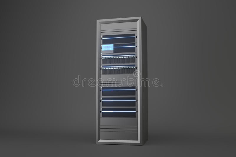 server stock illustratie