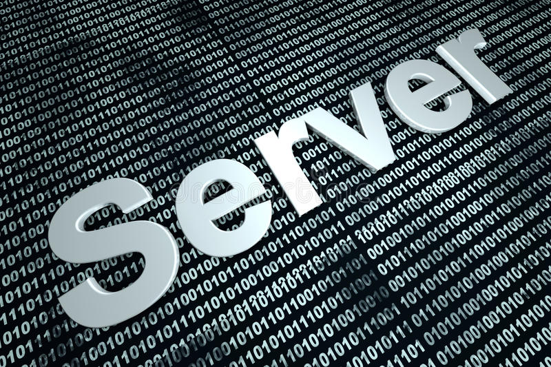 Server binary background stock images